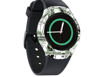 Skin Decal Wrap for Samsung Gear S2, S2 3G, Live, Neo S Smart Watch, Galaxy Gear Fit cover sticker Phat Cash