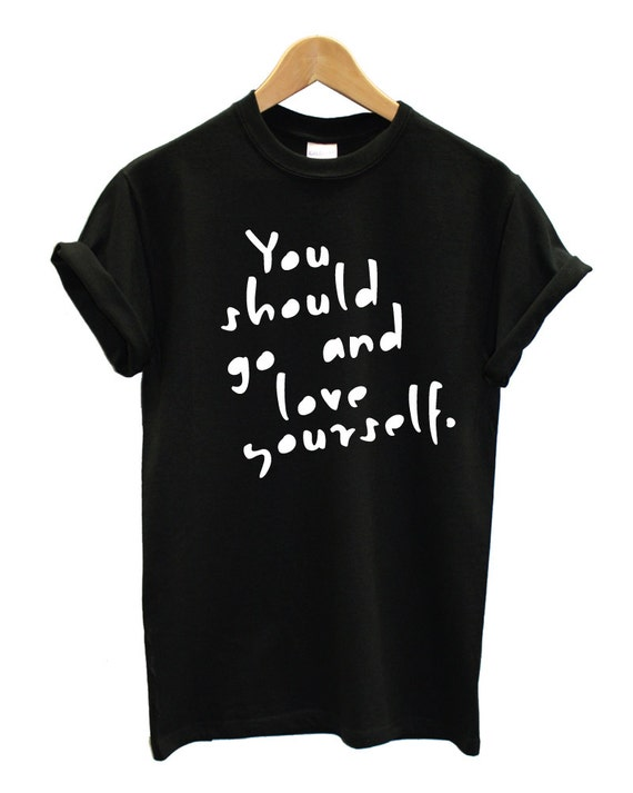 Love yourself justin bieber tshirt tumblr shirt for Website where you can design your own shirt