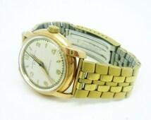 Baume & Mercier Gents 18 CT Gold Automatic Wrist Watch, Wristwatch, Vintage, Watch, Swiss, Manual Wind, Mechanical, Timekeeping, REF:280W
