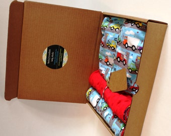Cars and Trucks Baby Shower Gift Set
