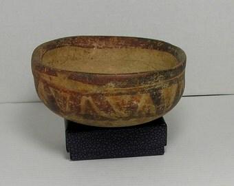 ZAPOTES BOWL; Pre-Columbian Mexico