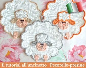 Pecorella etsy for Uncinetto digitale