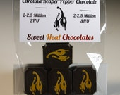 Carolina Reaper Dark Chocolate 4pc