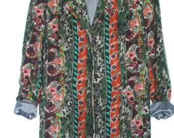 Jacket vintage printed luxury Kenzo Jungle