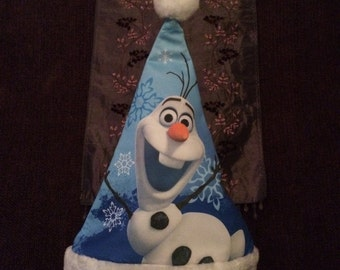 Frozen OLAF Christmas Stocking Cap Hat  - Personalized
