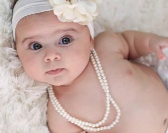 Pearl Baby Necklace, Pearl Girls Necklace, Baby Pearl Necklace, Kids Necklace, Toddler Pearl Necklace, Girl Pearl Necklace, Photography Prop