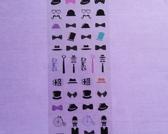 "Sticker sheet ""Gentlemen"""