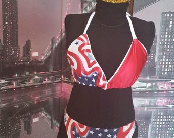 Celebrate your independence bikini bathing suit