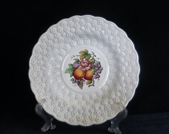 Copeland Spode 9-inch Plate in the Alden pattern #2 circa 1940s