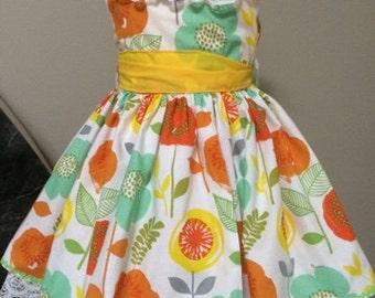 flawer precious girl's dress