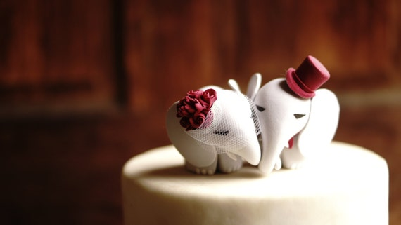 elephant cake topper elephant wedding cake topper warranty protection included 3876