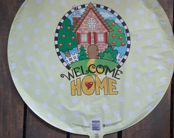 "18"" Welcome Home Mylar Foil Balloon"