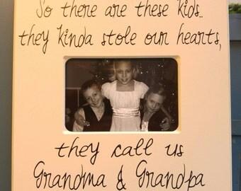 11*11 Photo Sign Grandma & Grandpa