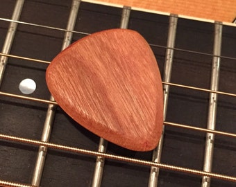 Cherry Wood - Wooden Guitar Pick