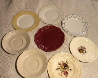 8 Vintage Misc. Plates