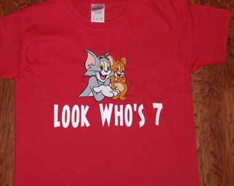 Tom and Jerry Birthday shirt