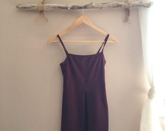 Vintage Open Front Dress