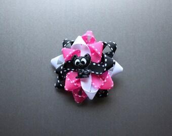 Go Dog Go themed bow