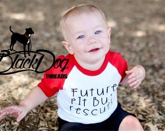 Pit Bull Shirt for kids, Pitbull Shirt, Pit Bull Rescuer, Pitbull, Baby tee, Dog Kid shirt, Adopt Don't Shop, Rescue, Adoption