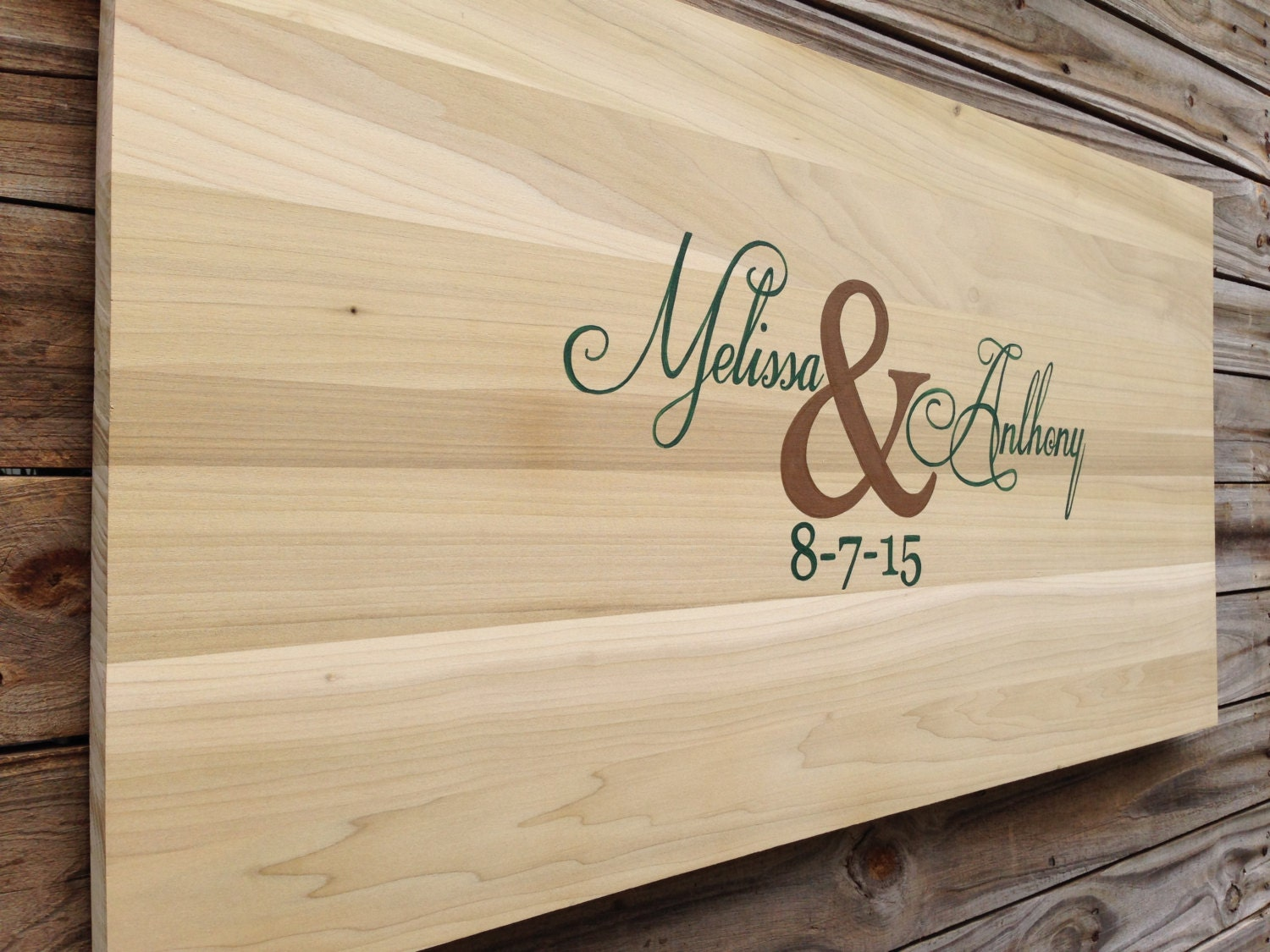 Unique Guest Book Wood Wedding Guestbook Alternative Wedding