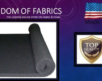 CUSTOM CUT - 5 inch Gun Case, Rifle Case or Camera Case Foam - Sold by  Sq Ft.