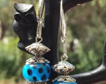 Murano Bead Earrings