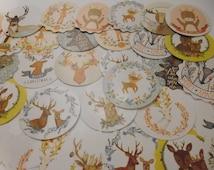 Kawaii Deer Woodland Sticker Set 40 pieces
