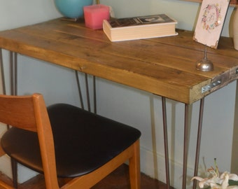 Industrial Dressing Table G plan Mid Century  Modern Style hairpin Legs