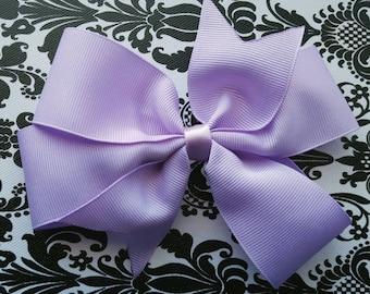 Lavender Pinwheel Bow, 5.5 Big Bow