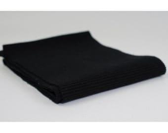 Black Ribbing 120cm wide