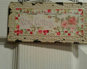 Rose Cottage Sign