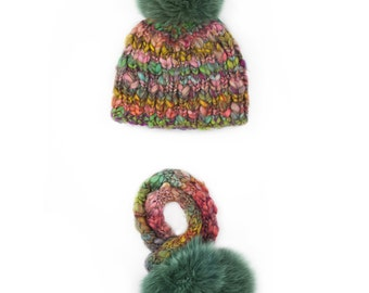 Ada Hat And Scarf Set
