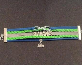 Hawks infinite love bracelet-Royal blue
