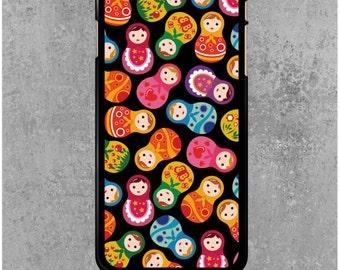 iPhone 6 Plus / 6S Plus Case Black Russian dolls + Free Worldwide Shipping