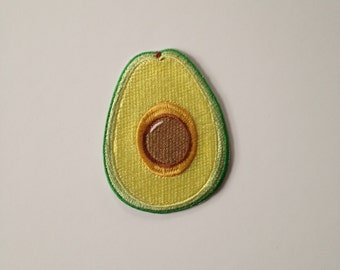 Avocado Iron on Patch