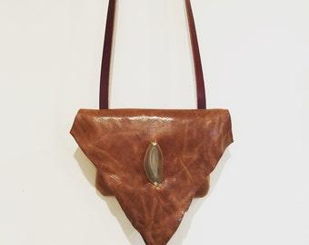 Leather Crossbody Bag, Tan Leather Crossbody, Tan Leather Handbag