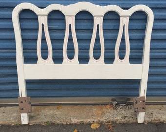 French Provincial Twin Size Headboard (2 available)