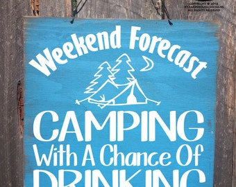 camping decor, camping sign, camping decoration, Camping, Camper Sign, Camper decor, camping beer sign, beer camping sign, 260