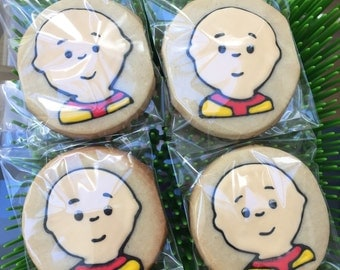 12 boy kid inspired cookies - birthday party - boy or girl