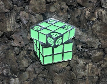 Sound Tribe Sector 9(STS9) Rubix cube Hat Pin-SILVER