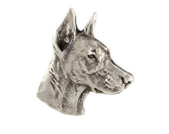 Dobermann, dog pin, limited edition, ArtDog