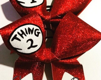Glitter all red thing bows