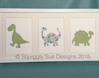 Trio of Dinosaurs
