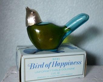 NEVER USED - Birds of Happiness - Avon - Perfume Bottle