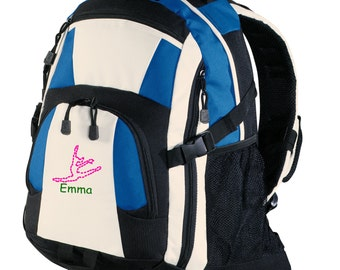 Personalized Backpack Embroidered Back Pack Custom Backpack - Sports - Dance - BG77