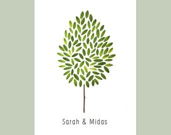 Wedding Invitation Tree