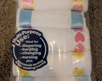 Burp cloths with style