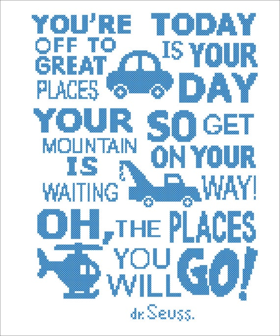 Bogo Free Dr Seuss Quote Oh The Places You Ll