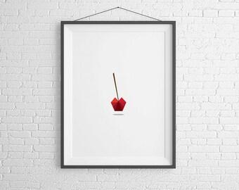 Cherry Print. Home Decor. Instant Download.