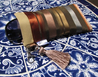 Sunglasses Snap Case - Patio Stripes